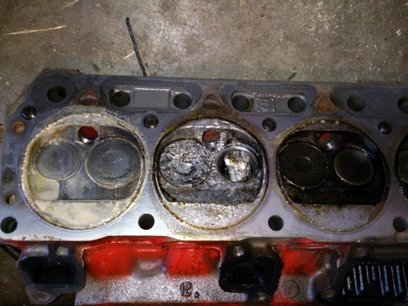 Ford 200 Destroyed Valve