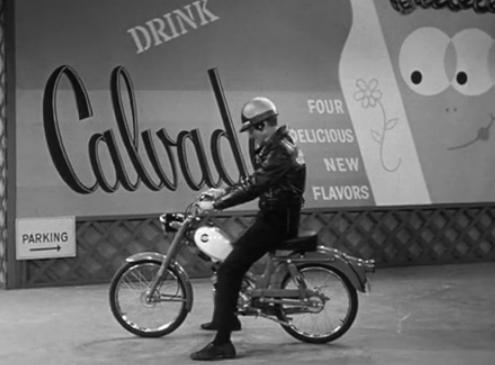 Dick Van Dyke 1965 Harley M50