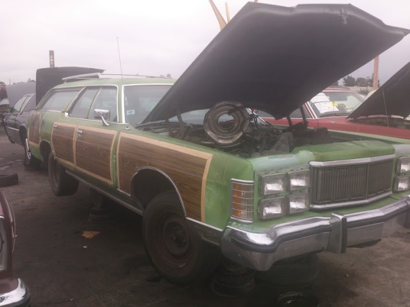 1977 Ford LTD Country Squire Wagon 1