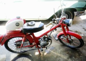 1965 Harley M50 Before 2