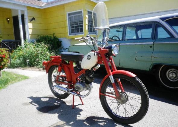 1965 Harley M50 After 5