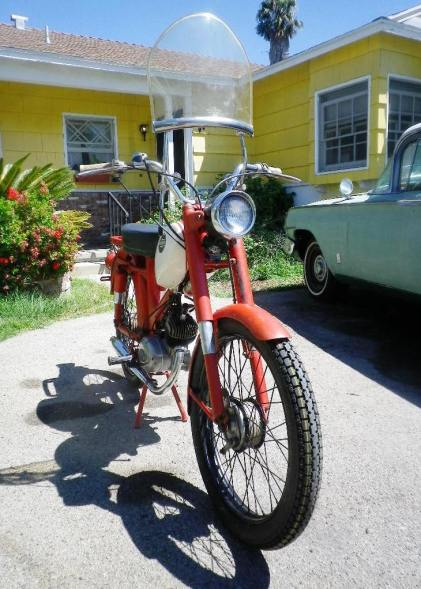 1965 Harley M50 After 4