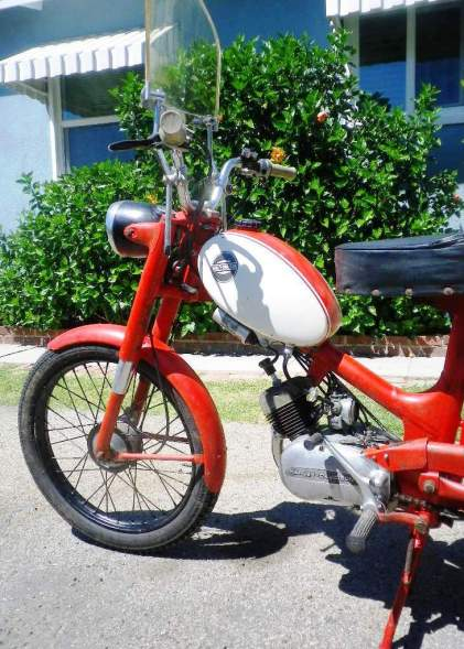 1965 Harley M50 After 6