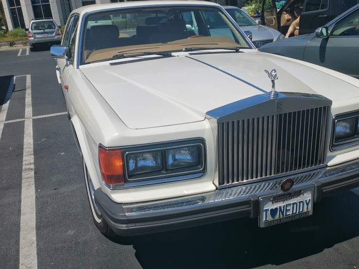 1989 Roll Royce Silver Spirit 1