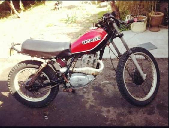 1979 Honda XL500 2