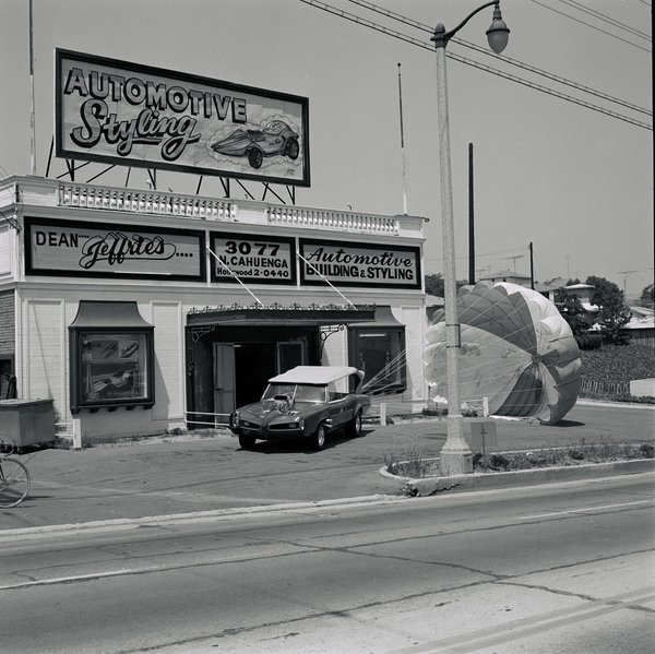 Jeffries Automotive Styling 1968