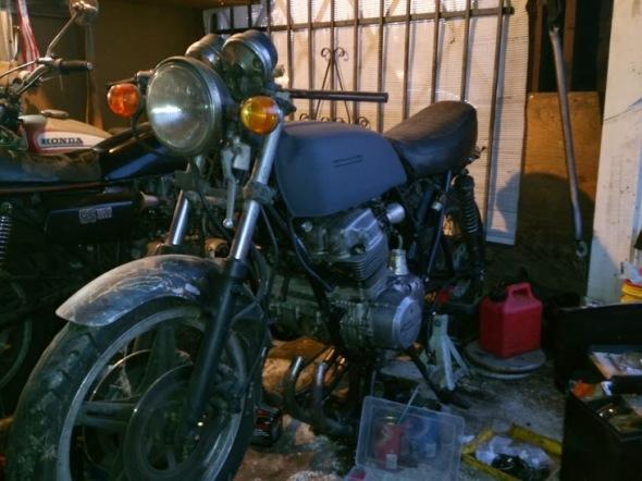 1972 Honda CB750 Cafe Racer 8