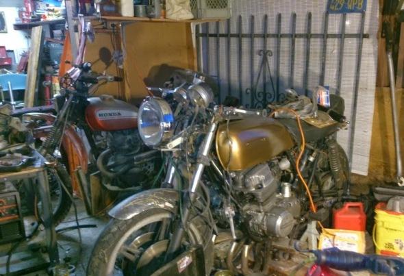 1972 Honda CB750 Cafe Racer 11