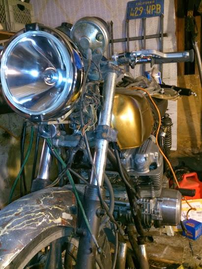 1972 Honda CB750 Cafe Racer 10