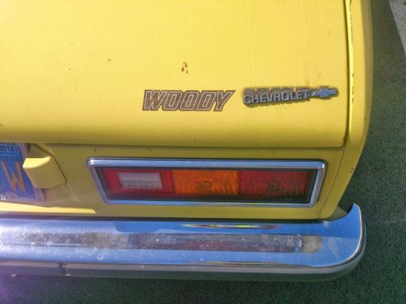 1976 Chevy Chevette Woody 1