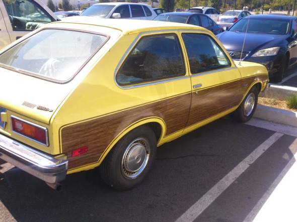 1976 Chevy CHevette Woody 2