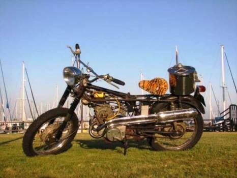 1965 Honda CL160 4