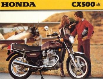 Honda CX500 2